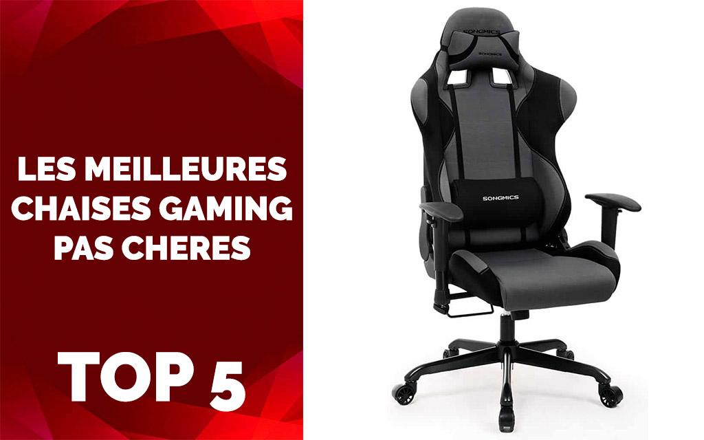 Les Meilleures Chaises Gaming Pas Cher 2019 Test Comparatifs