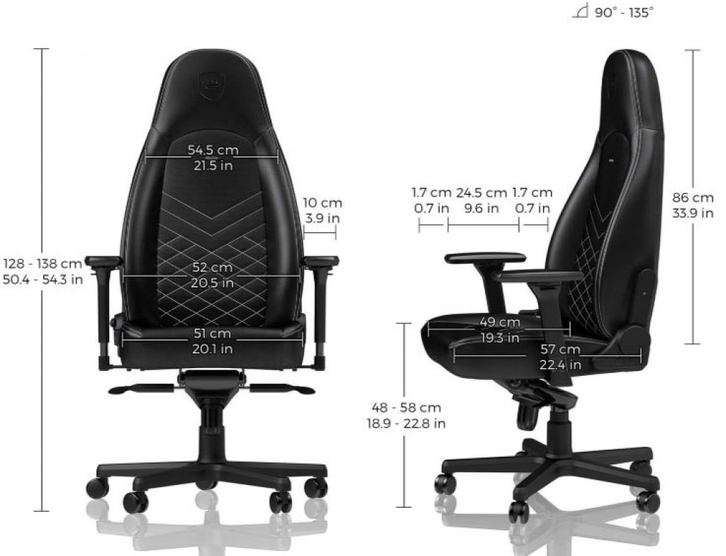 Dimensions-NobleChairs-ICON