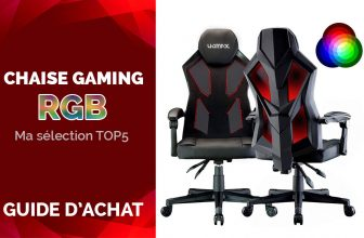 TOP 5 Chaises Gaming Pas Cher RGB