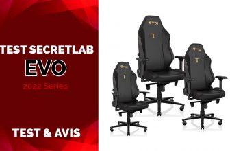 Test Secretlab EVO 2022 Series