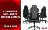 Comparatif des meilleures Chaises Gaming 2020