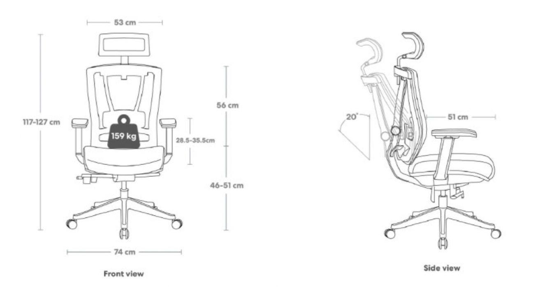 Dimensions-Autonomous-ErgoChair2