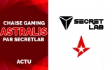Chaise Gaming Astralis – Secretlab