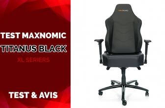 Test Maxnomic XL SERIES Titanus Black