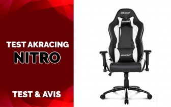 Test AKRACING Nitro, une chaise gaming pour le long terme