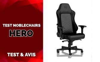 Test NobleChairs HERO, L'ergonomie & Le Luxe