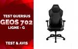Test Quersus GEOS 702, la chaise innovante pour les grands gabarits