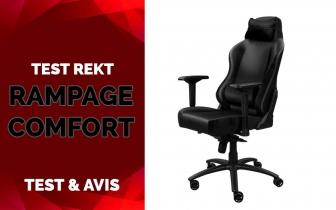 Test & Avis Rekt Rampage Comfort
