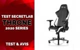 Test & Avis SecretLab THRONE 2020 Series