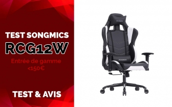 Test & Avis Songmics RCG12W