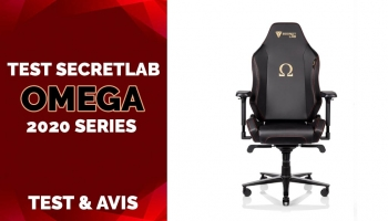 Test & Avis SecretLab OMEGA 2020 Series